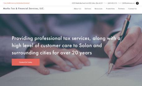 Marko Taxes Website